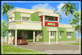 very simple kerala house elevation at 1879 sq ft