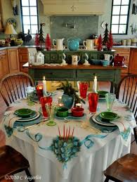 christmas decor for round tables christmas round table decorations designcorner
