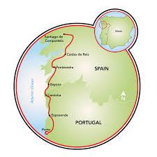 Map A Bike Route by Camino De Santiago Bike Tour Portugal Spain Tripsite