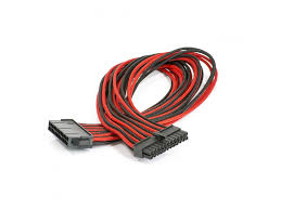 phanteks ph cb cmbo br 500mm red black universal extension cable