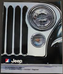 jeep amc logo jeep an intro to cj scrambler pickup cherokee wagoneer amc sales