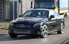 the all mercedes c class 2019 mercedes c class coupe facelift shows all led