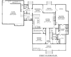 master bedroom above garage floor plans with apartment conversion