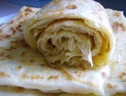 recette de cuisine kabyle msemens crêpes feuilletées kabyles sucrées cuisine en partage