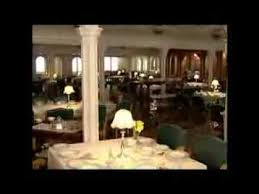 Titanic First Class Dining Room Titanic Behind The Scenes Flooding The Dining Saloon Youtube