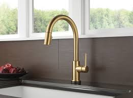 touch2o kitchen faucet delta 9159t cz dst trinsic single handle pull kitchen faucet