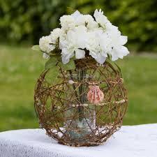 Grapevine Floral Design Home Decor The Grapevine Sphere Vase Wedding Centerpiece Wedding Decorations