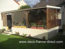 terrasse transparente bache sur mesure terrasse