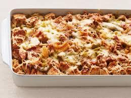 Italian Bread Salad Recipe Ina Garten Leek And Artichoke Bread Pudding Recipe Ina Garten Food Network
