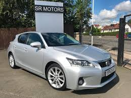 lexus hatchback used lexus ct 200h hatchback 1 8 luxury cvt 5dr in glasgow