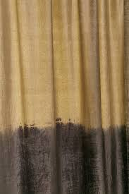 velvet dip dyed curtain urban outfitters
