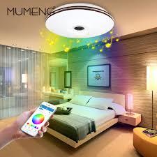 living room ceiling lights modern aliexpress com buy mumeng led ceiling light modern rgb living