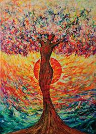 buy original pop tree paintings saatchi