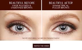 legendary brows brow gel charlotte tilbury