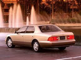 lexus ls400 1997 lexus ls400 рестайлинг 1997 1998 1999 2000 седан 2 поколение