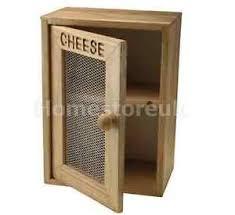 cheese wooden storage box cabinet front door mesh cupboard rack