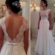 Lace Wedding Dresses Open Back Lace Wedding Dresses Beach Wedding Dresses Dressesss