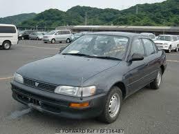 toyota corolla sedan 1993 used 1993 toyota corolla sedan dx e ee101 for sale bf136487 be