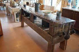 ilot de cuisine antique superbe ancienne établie restaurer le géant antique
