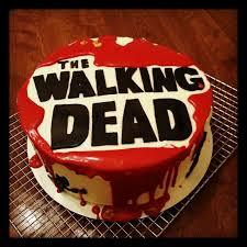 walking dead cake ideas 13 fantastiche immagini su walking dead party su