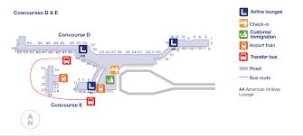 miami airport terminal map miami international fl u s