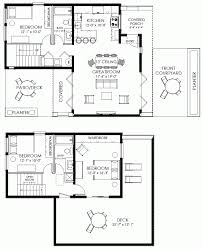 Small House Floor Plans With Loft by Small House Plan Small Contemporary House Plan Modern Cabin Plan