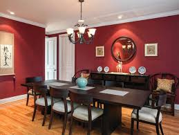 Red Dining Room Sets Beige Valance Red Dining Room With Wainscoting Extraordinary