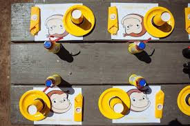 curious george birthday party kara s party ideas curious george birthday party