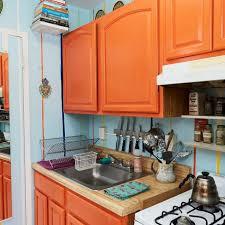 white kitchen cabinets orange walls blue orange and white kitchen pictures hgtv photos