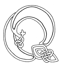 free celtic letters of the alphabet