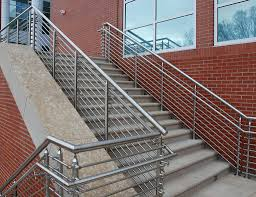 Stainless Steel Banister Rail Architectural Railing Systems Sc Railing Company