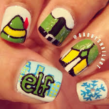 christmas nail art ideas stylecaster