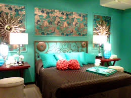 bathroom alluring bedroom turquoise brown decorating ideas and