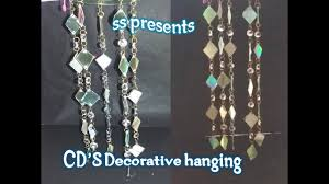 best out of waste cd decorative hanging room decor ideas