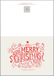 merry and bright free christmas card template for 2015