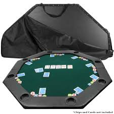 folding poker tables for sale trademark octagon padded green poker table top 10 11652 the home depot