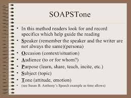 Occasion Soapstone Active Reading U0026 Note Taking