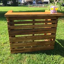 oak pallet bar for father u0027s day