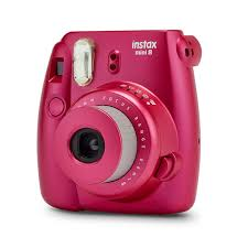 find the fujifilm instax mini 8 camera pomegranate red at michaels