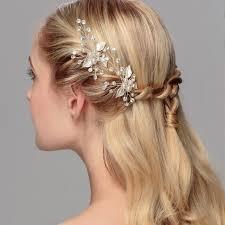 pearl hair pins rhinestone and pearl hair pins hp001 pair of 2