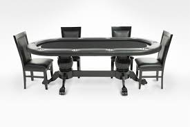8 person poker table elite oval black 8 person poker table set with 8 dining chairs