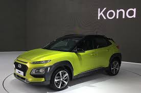 hyundai suv uk hyundai to launch electric kona suv in 2018 autocar