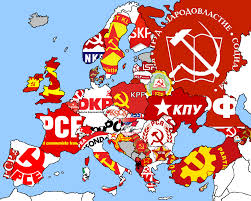 European Union Blank Map by Communist Parties In Europe Related Logos Of European Far Right