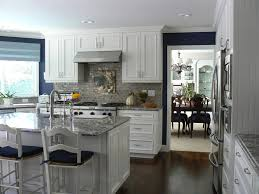 exposed ceiling basement kitchen traditional with white kitchen