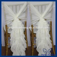 curly willow chair sash ch090b popular fancy organza wedding wholesale cheap curly willow