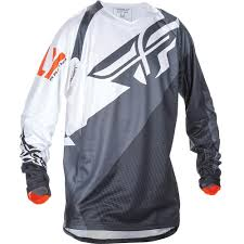 fly motocross jersey fly racing 2017 evolution 2 0 black white orange jersey mxstore