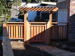 glomorous design for backyard fence designs photo album home