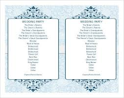 Simple Wedding Program Examples Wedding Ceremony Program Sample Philippines Wedding Invitation