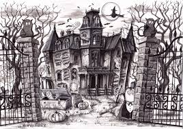Drawings Of Halloween Halloween The Daily Norm