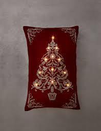 tree light up cushion m u0026s